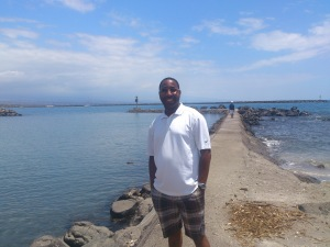 Shun P. savoring the peace of mind that he found.
