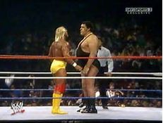 Hulk Hogan Vs Andre the Giant