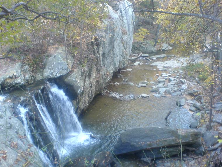 Overlook of Kilgore Falls