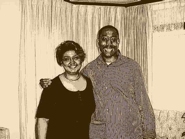 Me and one of my most admired cousins... Mae!