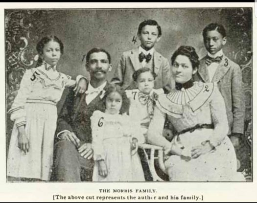 My 4th Great Aunt Fannie Austin-Morris and Family